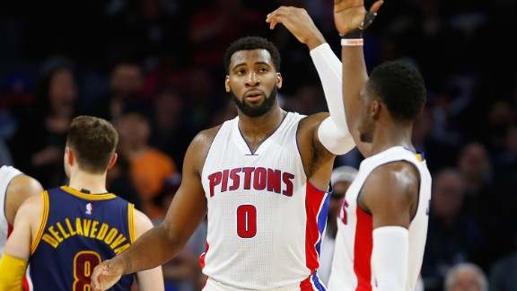Drummond led the NBA in both offensive and defensive rebounds last year, averaging a total of 14.8 per game. He also made the All-NBA Third Team, confirming his status as a top-15 player in the league. The 6-foot 11-inch center was rewarded with a five-year max deal from the Pistons, worth over $127 million.