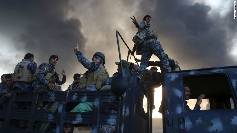 Dramatic moments from the battle for Mosul