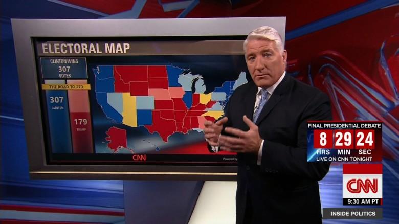 Road to 270 CNNs general election map CNNPolitics