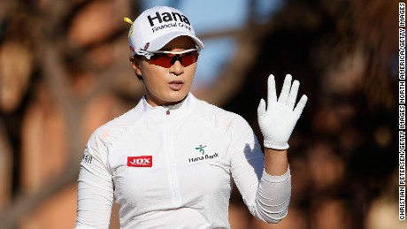 Pak won five majors and 25 LPGA Tour events in an illustrious career.