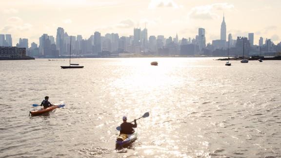 Zach Schwitzky kayaks across New York