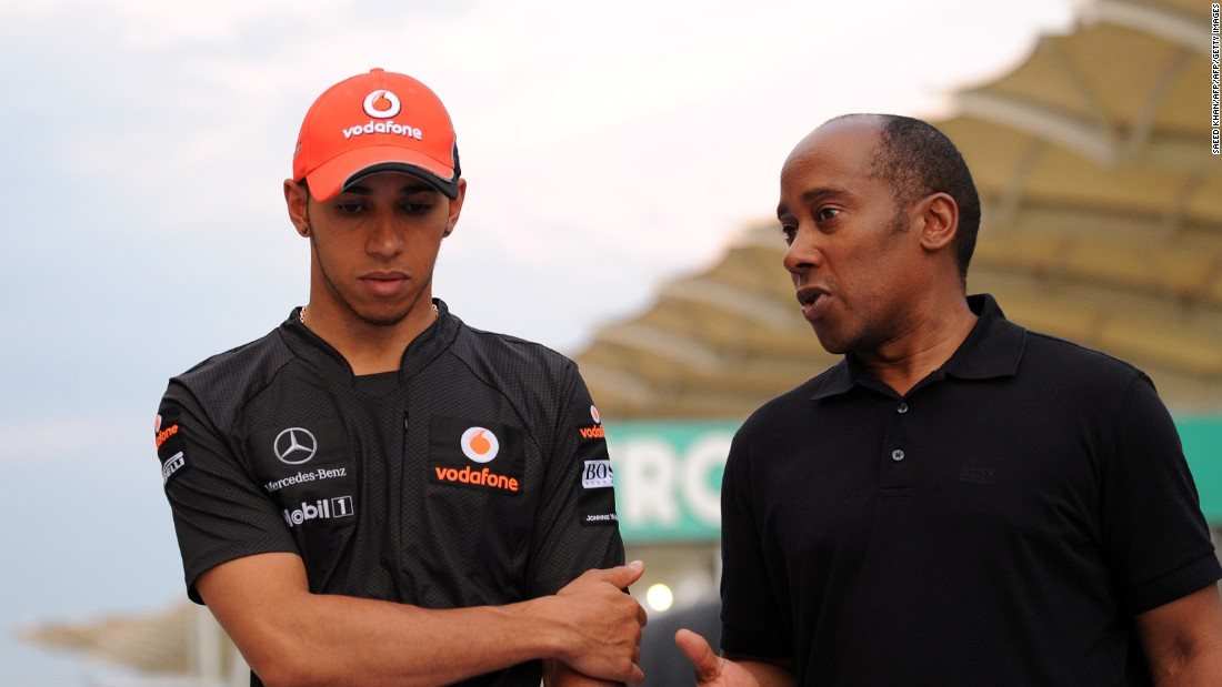 "Anthony is always on hand to offer Lewis advice before each race. ""I always send Lewis messages that say 'Dude, focus, be positive. You know how great you are and just continue believing in yourself,'"" he told CNN."