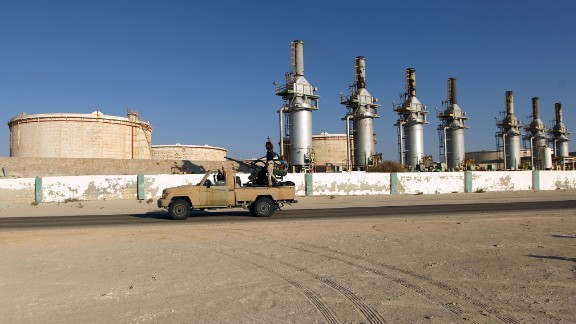 Forces opposed to Libya's unity government took control of oil facilities