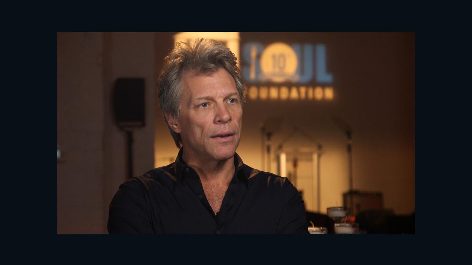 Bon Jovi's pay-it-forward mission - CNN Video