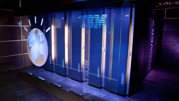 "YORKTOWN HEIGHTS, NY - JANUARY 13:  A general view of IBM's 'Watson' computing system at a press conference to discuss the upcoming Man V. Machine ""Jeopardy!"" competition at the IBM T.J. Watson Research Center on January 13, 2011 in Yorktown Heights, New York.  (Photo by Ben Hider/Getty Images)"