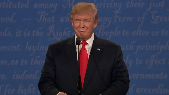 Donald Trump debate 01