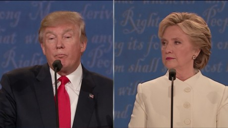 Related video: Clinton & Trump drop one-liners at the final debate