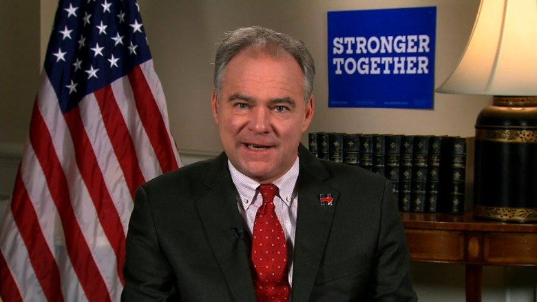 Kaine: I'm confident the people will accept the results