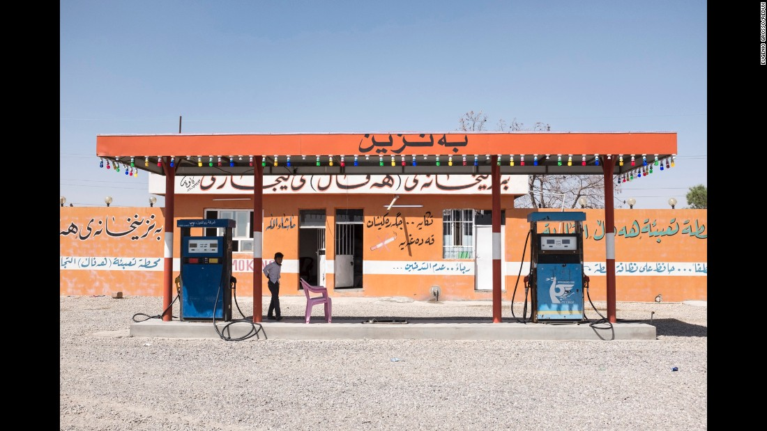 Many gas stations in Iraq are a family business, Grosso said.
