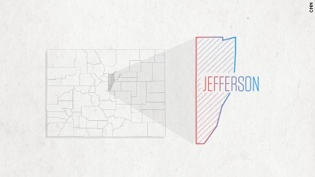 Jefferson County, Colorado is one to watch on Election Night.