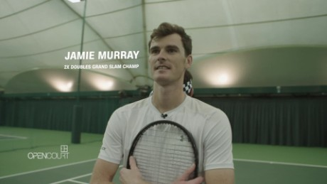 Jamie Murray flying high