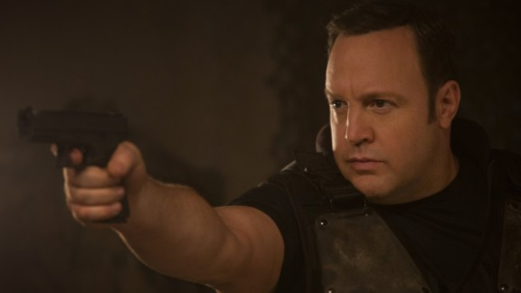 """""""True Memoirs of an International Assassin"""": Kevin James stars as an author who gets thrust into the world of espionage in this action comedy. (Netflix)"""