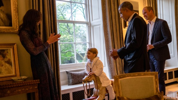 Obama talks with Britain