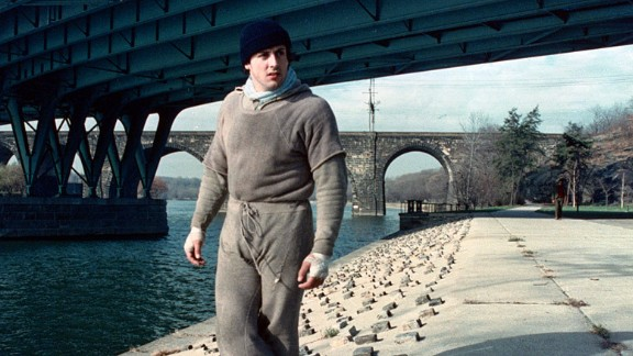 """""""Rocky"""": Sylvester Stallone found fame in his breakout role as Rocky Balboa, a boxer with a dream and the drive to become a champion. (Amazon Prime, Hulu)"""