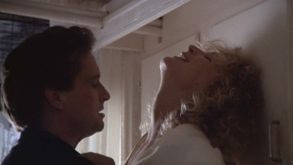 """""""Fatal Attraction"""": A husband gets more than he bargained for when he has an fling with an unstable woman. This film starring Michael Douglas and Glenn Close """"won't be ignored."""" (Hulu)"""