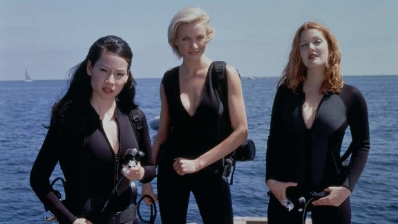 """""""Charlie's Angels"""": Lucy Liu, Cameron Diaz and Drew Barrymore gave the world a big screen version of the popular 1970s series about a trio of women private investigators. ( Hulu)"""