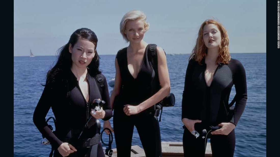 "<strong>""Charlie's Angels"": </strong>Lucy Liu, Cameron Diaz and Drew Barrymore gave the world a big screen version of the popular 1970s series about a trio of women private investigators. (<strong> Hulu) </strong>"