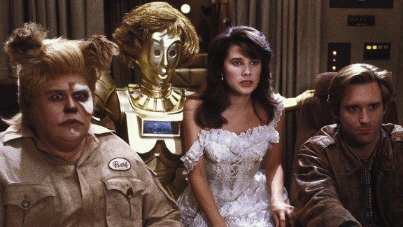 """""""Spaceballs"""": Science fiction films are parodied in this 1987 comedy co-written by the legendary Mel Brooks. (Hulu)"""