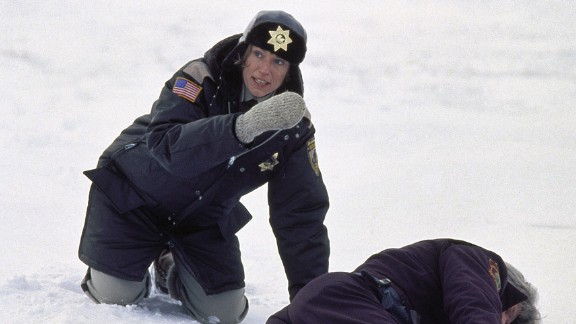 """""""Fargo"""": Yah, you betcha! Frances McDormand scored an Academy Award for her role as a pregnant police chief on the hunt for some killers in this dark dramedy. (Hulu)"""