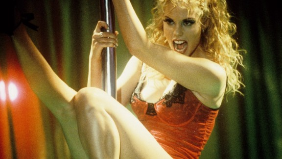 """""""Showgirls"""": Die-hard fans will argue it's so bad it's good. The film about a tough-as-nails showgirl trying to make it in Vegas won a slew of Golden Raspberry Awards, including worst picture, and is now a cult classic. (Hulu)"""