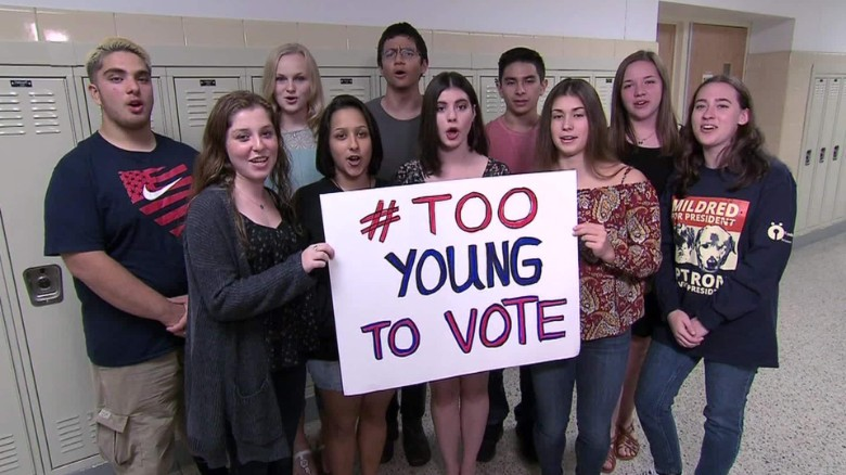 Are teens losing hope due to this presidential election?