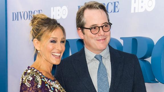 Sarah Jessica Parker and actor Matthew Broderick are starring on Broadway together. (Photo by Gilbert Carrasquillo/FilmMagic)