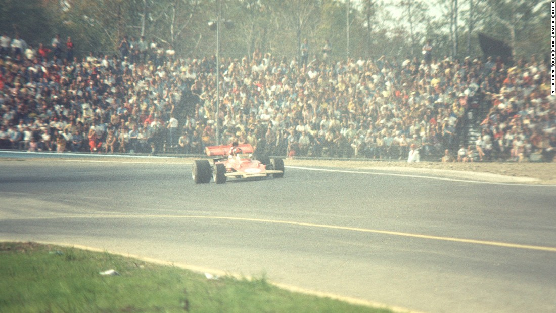 Many of the sports most famous drivers  won at Watkins Glen including Canada's Gilles Villeneuve who took the checkered flag in 1979.