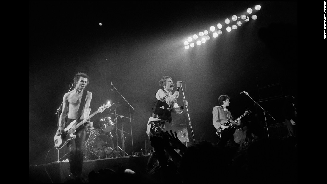 The Sex Pistols perform their last song at their final show ever at the Winterland Ballroom in 1978. Prior to the show, Zagaris had found the Sex Pistols' music unbearable. But he said as he saw the band members exit their bus, he immediately felt the energy and knew he was in for something special.
