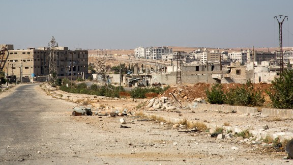 There was little sign residents were heeding calls to leave in Aleppo