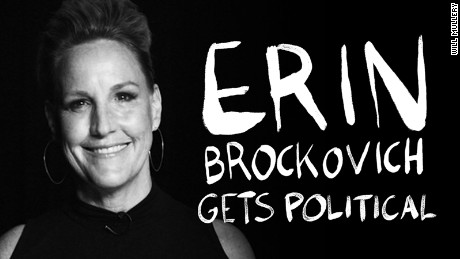 Erin Brockovich gets political: 'We have a national water crisis' that no one is acknowledging