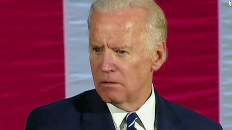 Joe biden i wish i could take trump behind the gym cnn video