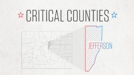 Critical Counties — Jefferson, Colorado: The growing suburbs