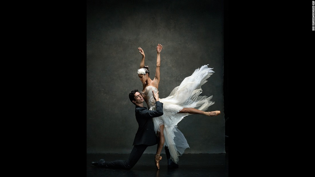 "American Ballet Theatre principal Misty Copeland and soloist Alexandre Hammoudi. ""Other people's words are very powerful,"" Copeland told photographers Deborah Ory and Ken Browar for their project. ""You can't let them define you. Take what you think is going to help you and don't let it beat you down."""