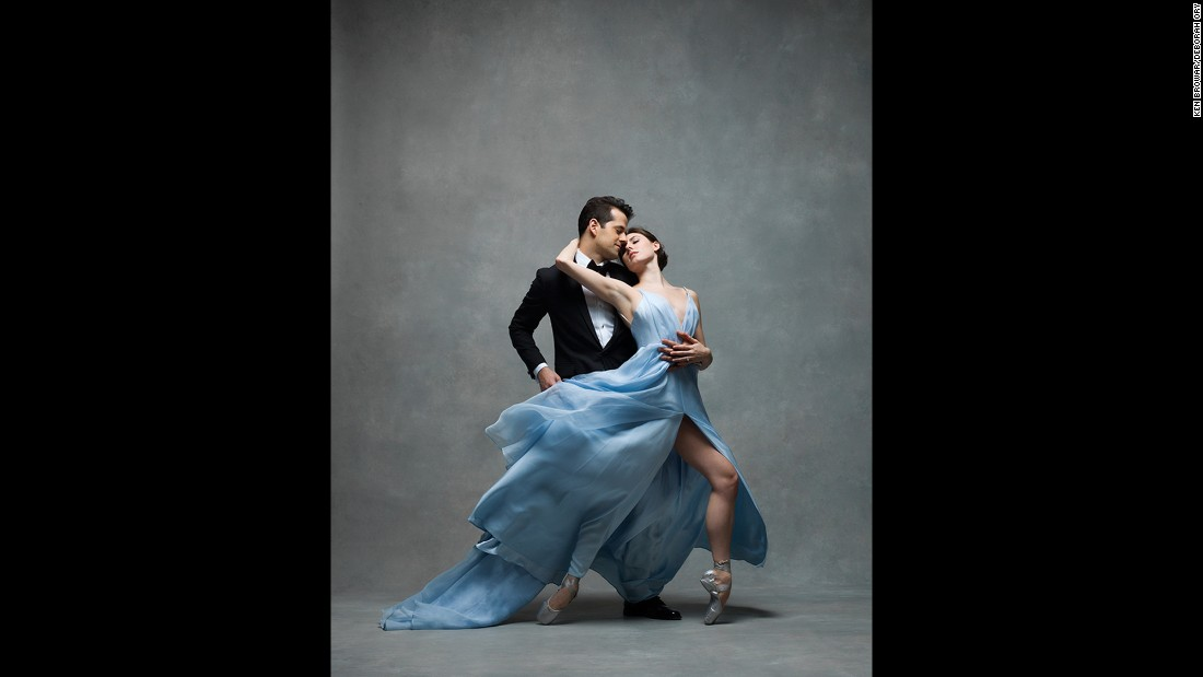 "New York City Ballet principals Tiler Peck and Robert Fairchild. ""I wish I had known to take care of my body when I started dancing,"" Peck told the photographers. ""Dance is an extremely physically demanding career, and it is really important to be good to your body, because it is your instrument."""