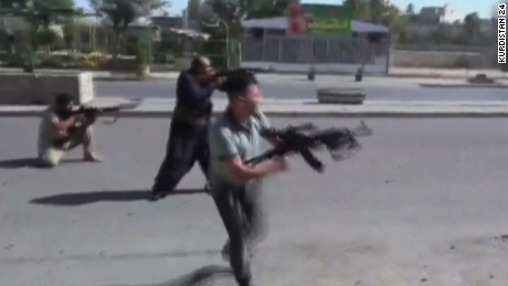 ISIS ambush in Kirkuk