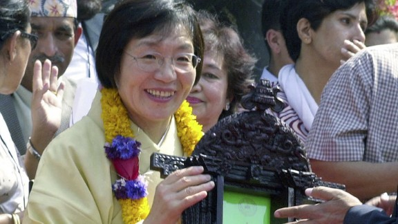 Junko Tabei, 77, was the first woman to climb Mt. Everest in 1977