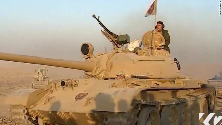 Forces battling ISIS advance toward Mosul