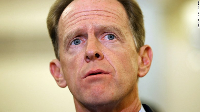 GOP Sen. Pat Toomey of Pennsylvania won't run for reelection in 2022