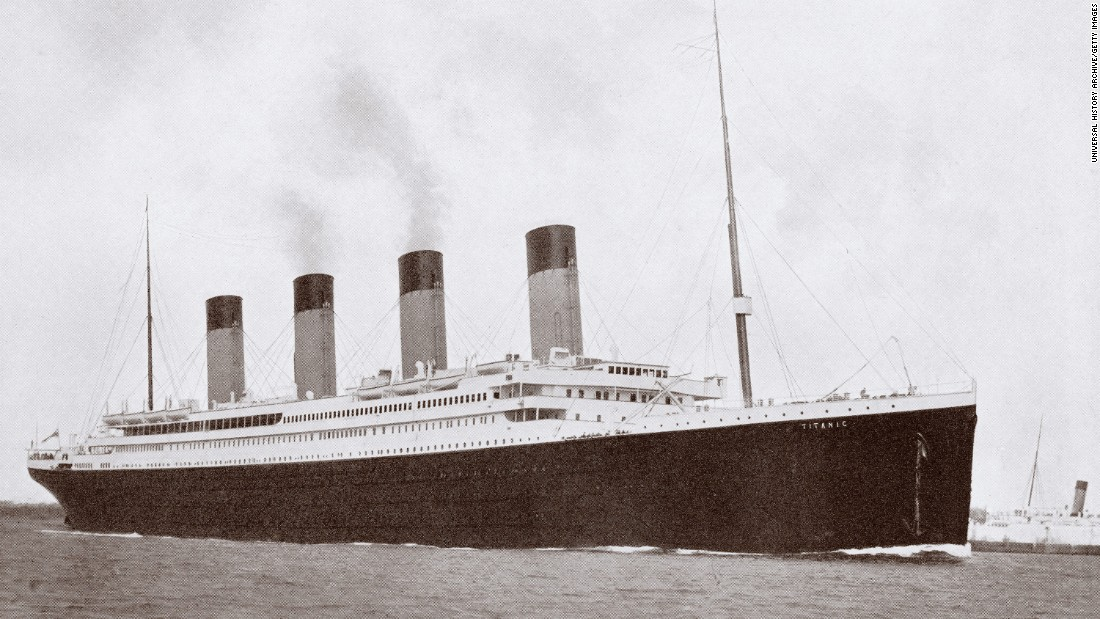 Never mind the Titanic's sinking (1912) and discovery at the ocean bottom (1985). The ship wasn't even around when the Cubs won in 1908. Construction didn't start until 1909, and it wasn't launched until 1911.