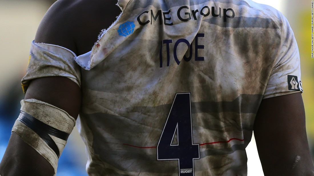 Saracens' defense coach Paul Gustard has said Itoje could be as good as former England captain Martin Johnson. The 2003 World Cup winner also wore the No. 4 shirt.