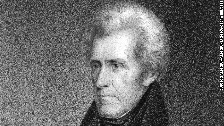 Obama tried to take Andrew Jackson off the $20. Now Trump is visiting his grave.