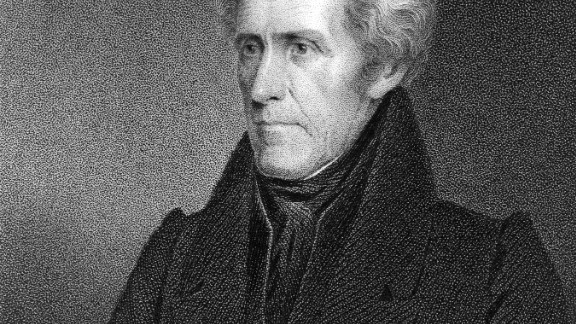 circa 1820:  Portrait of Andrew Jackson (1767-1845), seventh President of the United States, who served for two terms from 1829 to 1837. The self-taught lawyer, known as 'Old Hickory,' forced much of the Native-American population from the Eastern U.S. into Western territories.  (Photo by Hulton Archive/Getty Images)