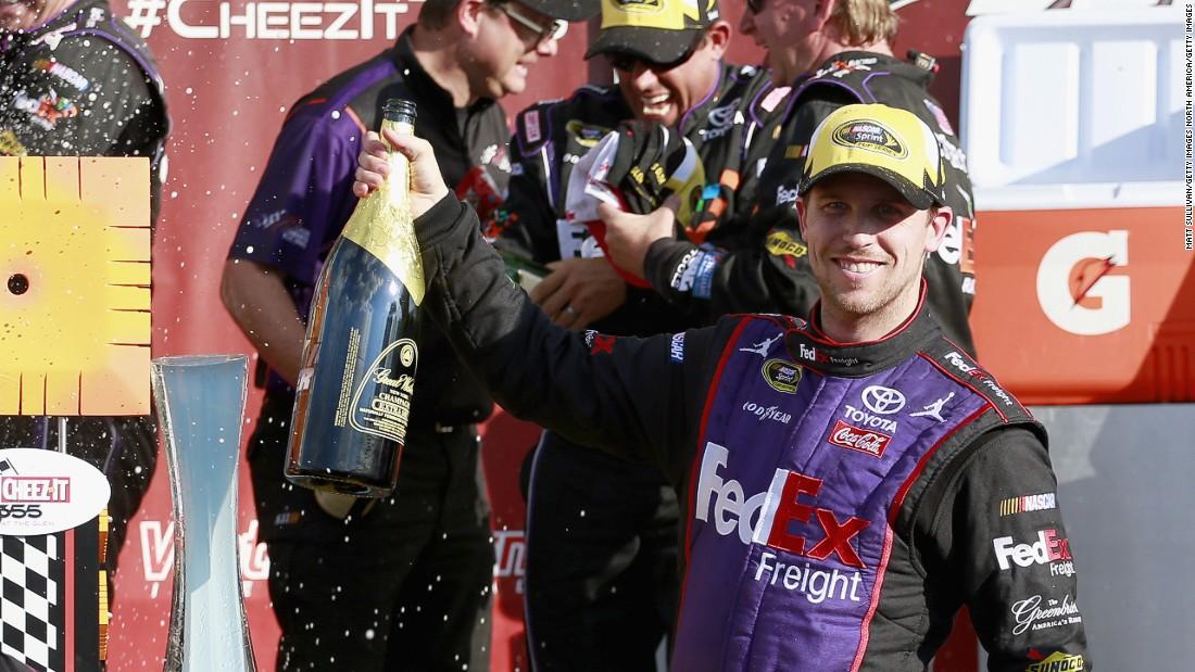 "Despite breaking his back in 2013, Hamlin does not fear getting injured. ""My biggest fear is not performing well,"" he says."
