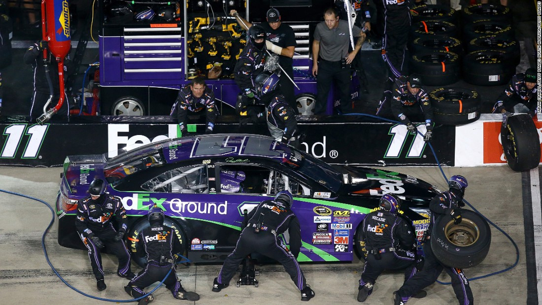 """You have to have a lot of faith that those guys have done their job well,"" says Hamlin."
