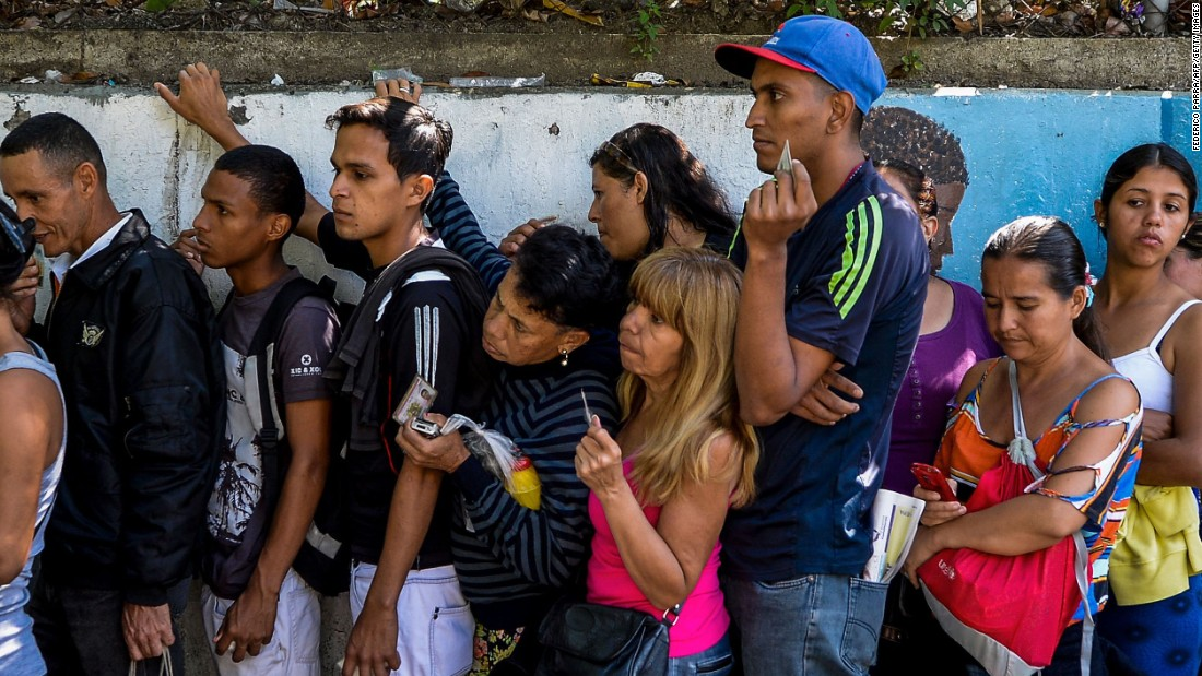 Venezuelan food crisis reflected in skipped meals, weight ...