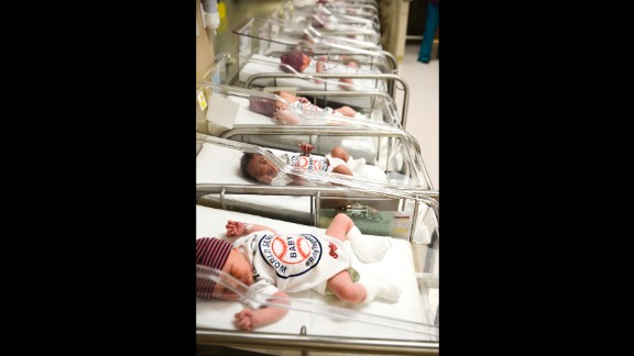 Newborns at the Cleveland Clinic