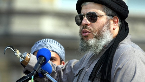 For the second, he found himself in a high security unit with the radical Islamic preacher Abu Hamza among others.