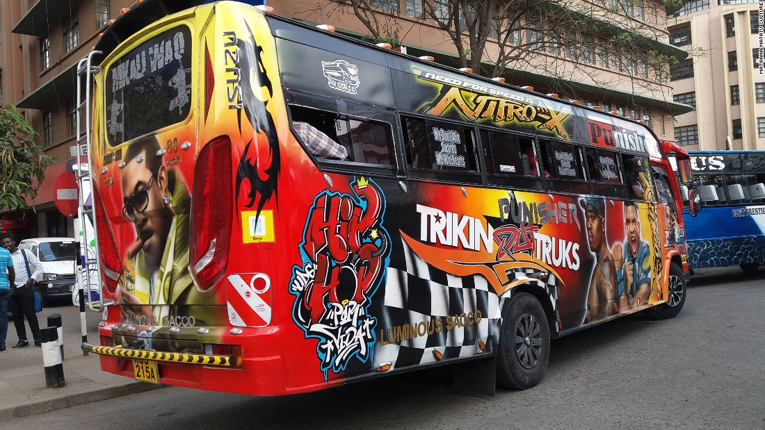 Brian Wanyama founded Matwana Matatu Culture to document matatu culture artwork in Nairobi before it disappears.