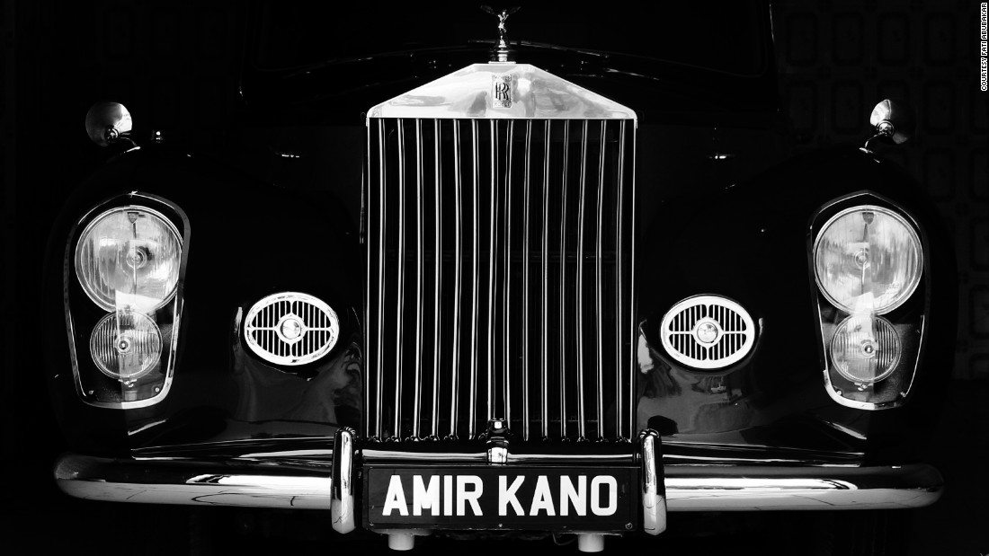 "A  vintage 1962 Rolls Royce in the Emir of Kano's fleet. Emirs are rulers of the Fulani region. ""A lot of my work has been finding beauty in unusual places,"" she told CNN. ""I always strive to show that beauty is everywhere and that Africa and Africans are beautiful resilient people who thrive anywhere."""