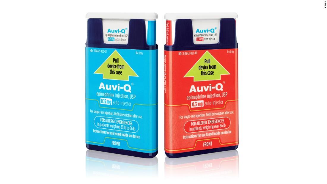 Auvi-Q re-enters US market in 2017, challenging EpiPen - CNN